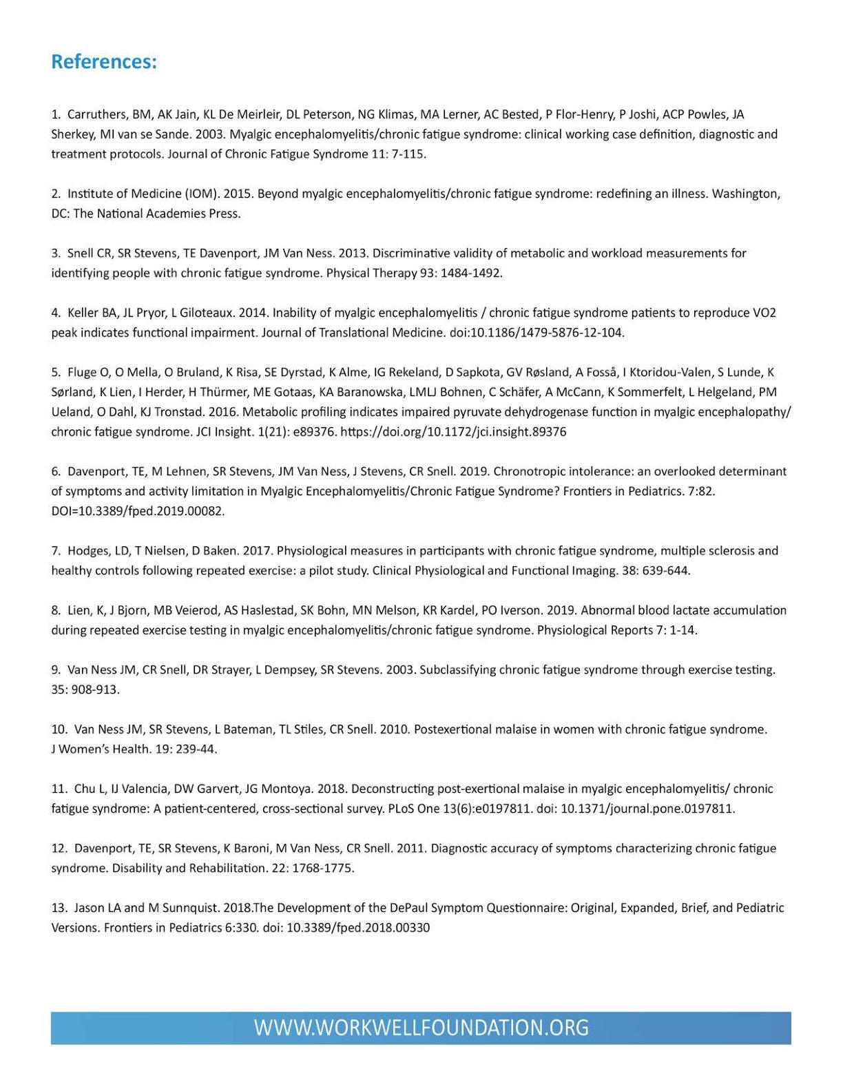 PEM Timecourse Factsheet ...